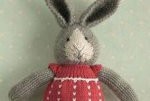 Doudous / Doudous au tricot et au crochet