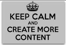 Sisältömarkkinointi / Content Marketing / Pinnauksia sisältömarkkinoinnista / Pins about content marketing