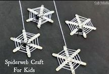 Holidays | Halloween | Kids / Get halloween started off right with these Halloween Crafts for Kids!