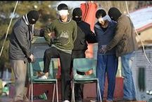 Executions in Iran in 2014 / Every 8 hours, a person is executed in Iran. Since 1980, Iran has had the highest number of executions per capita. Executions in Iran are by hanging from a crane, that lifts the victim. The death process takes about 15  or more minutes. Executions are often in public and in groups.  This trend has become even worse during Rouhani's presidency. Only a united voice from all over the world can stop this killing machine.