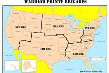 Warrior Pointe BDE's / Warrior Pointe was created to be a rallying pointe for soldiers. Whether active, retired, reserve, or veteran. All branches are welcome. We want you to feel that connection, brother/sisterhood that you had in-service. It is free to join, membership due paid when The Oath was taken. Warrior Pointe is broken down by Brigades, here you will find maps and emails to BDE leaders, as well as information on how to join them, join the conversation. www.warriorpointe.org Follow us FB & Twitter