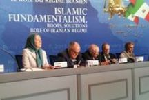 "Conference: Islamic Fundamentalism, Roots, Solutions, Role of Iranian Regime, Feb 7, Paris, France. / An international conference titled ""Islamic Fundamentalism, Roots, Solutions; Role of Iranian Regime"" was held in Paris on the 36th anniversary of the February 1979 revolution in Iran at the invitation of the French Committee for a Democratic Iran (CFID) where some of the most prominent international figures participated."