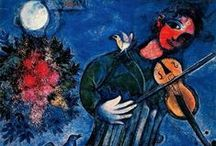 """""""For Love — of Chagall"""" / Share your thoughts - Comment at the Blog! — http://www.irequireart.com/blog/?p=816 .................................   """"In our life there is a single color, as on an artist palette which provides the meaning of life and art. It is the color of love."""" (Marc Chagall)"""