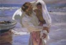 """""""Joaquin Sorolla"""" / Leave your comments! — http://www.irequireart.com/blog/?p=996"""