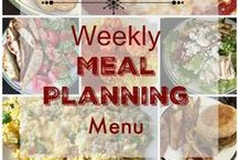 *Meal Planning* / Weekly Meal Planning Menus along with recipes I really want to add to the menu really soon!