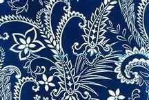 blue and white / Geschirr und Deko in blau und weiß