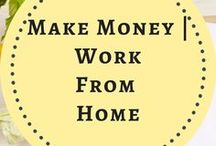 Make Money | Work from Home / Make money, work from home, earn money from home, work at home, make money at home, side hustles, best online business ideas, survey sites, make money online,  start a blog, make money blogging, freelance writing, productivity, how to make money. Solopreneurs, entrepreneurs, mompreneurs, Amazon selling, affiliate marketing, profit, make money, social media jobs.  (Board name change - important Pinterest strategy change- message for info) Board closed!