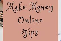 Make Money Online Tips / Everything you need to make money online! You can work from home by starting an online business or starting a blog. Learn how to use blog tips, search engine optimization, social media tips, email marketing, and affiliate marketing to your advantage. This is for all small businesses, startups, side hustles, and entrepreneurs... here's to your success!