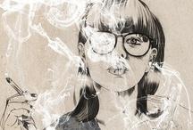 Illustration<3 / by ⚜ Alexandra ⚜