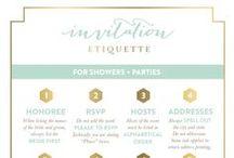 Invitation Wording + Etiquette