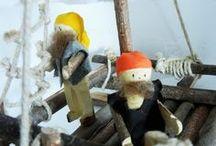 Atelier des enfants / Giocattoli in legno, creazioni in materiali e fibre naturali