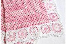 dantel battaniyeler / bebek battaniye modelleri - hackeldecken für babys - crochet blankets for babys