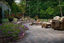 Outdoor Living Fireplaces / Cozy up to the fire in your new Outdoor Living Room with Fireplace  #sandiegooutdoorfireplace #outdoorfireplace