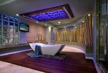 Unique Bathroom Designs / Unique, interesting and inspiring bathroom designs and themes.