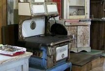 Antique Stoves / Antique Wood Burning, Electric and Gas Stoves