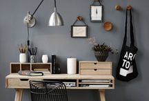new desk / inspiration for a nice little work space