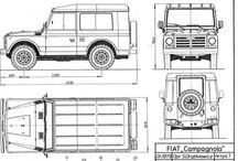 Fiat 4x4 / Fiat 4x4, Iveco 4x4, Campagnola.