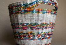 Košíky, pletenie