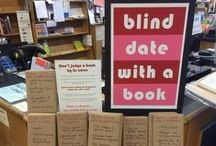 Creative Bookstore Displays / Engaging in-store marketing by booksellers