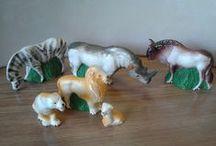 Мое. Советские фигурки животных из пенопласта / Авторская коллекция