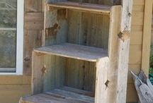 Barnwood/Pallet DIY Projects / Reclaimed wood project ideas for Home and Outdoor Living