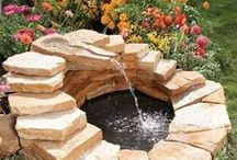 Fountains, Ponds, Waterfalls, Water Features