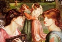 Pre-Raphaelites / Dante Gabriel Rossetti, John Everett Millais, John William Waterhouse and... The Others