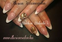 My works / www.illusionsalon.hu www.facebook.com/illusionkoromszalon