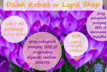 AKCJE PROMOCYJNE / Bieżące akcje promocyjne Lapis Shop