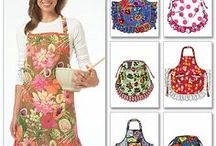 they must have buttons and bows / apron ideas  (not my comments) / by debby lidstrom