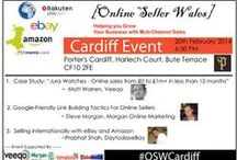 Online Seller Wales - Cardiff / Cardiff's first FREE Online Seller Wales event! We are offering you a fantastic venue and exciting speakers aiming to help you grow (or start!) your online business. You will meet will like minded entrepreneurs, share your experiences, hear the latest trends in the industry and take away some relevant ideas to grow your business.
