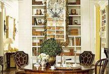 Delicious Dining Rooms / Fabulous Designer/Decorator Dining Rooms #home decor #interior design