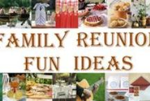 family feud / fun and games for the family reunion  (not my comments) / by debby lidstrom