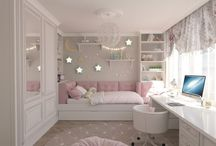 Girls bedroom / Ideas   Accessories   Teenagers   Toddler   Pre Teen   Little   Small   Tween   Decorating   Storage