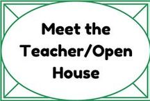 Meet the Teacher - Open House / by Lauren Elizabeth