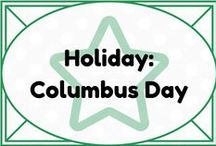 Holiday: Columbus Day / by Lauren Elizabeth