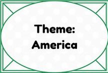 Theme: America, Election/Veterans Day / by Lauren Elizabeth