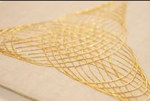 Inspiration - Textiles / Beautiful embroidery to inspire my work