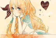 【Alice✿Manga】 / These images is Alice, but in manga, really think she prettier in Manga