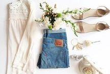 O U T F I T S / Flat lay fashion