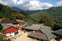 The Korean countryside / Scenes from Korea, outside the cities