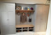 Boot room Mudroom / Ideas | Storage | Utility | Entryway | Extension | Accessories | Lockers | Flooring | Bench | Cabinets