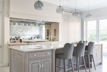 Kitchen / Ideas | Decor | Island | Storage | Design | Layout | Cabinets | Accessories