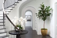 Hallway / Decorating   Decor   Storage   Lighting   Narrow   Small   Ideas   Colours   Panelling   Accessories   Bench   Table   Stairs   Entrance