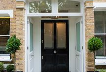 Porch & Front Door Ideas / Ideas | Entrance | Storage | Tiles | Front | Decorating | Accessories | Small | Interior
