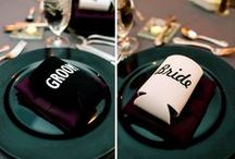 Wedding Swag / Your go to board for all the little things a wedding might encompass - from party favors, monogrammed napkins, to chair decor.  We hope to help you find all your details!