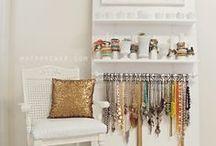 Creative Jewelry display.
