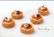 Relish Caterers Food Photos / Our fine dining approach to catering ensures seasonally inspired, perfectly prepared menus that utilize the freshest ingredients.