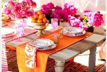 Piękny stół / W jedzeniu nie tylko ważne są potrawy, ale też miejsce, gdzie je podajemy. Jak zadbać o wygląd na stole, żeby każdy posiłek był małym rodzinnym przyjęciem.