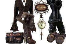 Steampunk style / Steampunk look